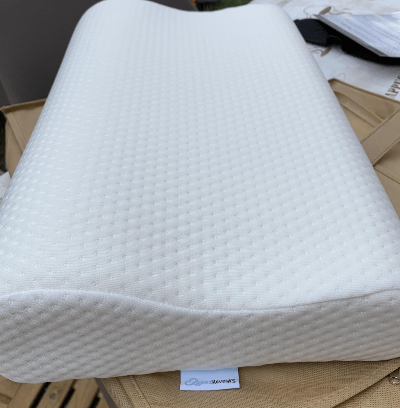 Un oreiller à mémoire de forme performant